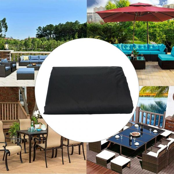 Waterproof Polyester Outdoor Furniture Protective Cover in 5 Sizes_10