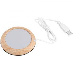USB Interface Beverage Cup Heater Insulating  Coffee Cup Coaster