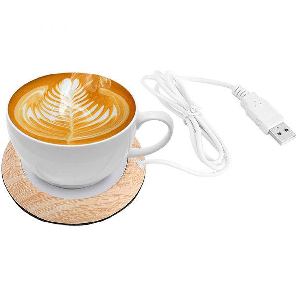 USB Interface Beverage Cup Heater Insulating Coffee Cup Coaster_2