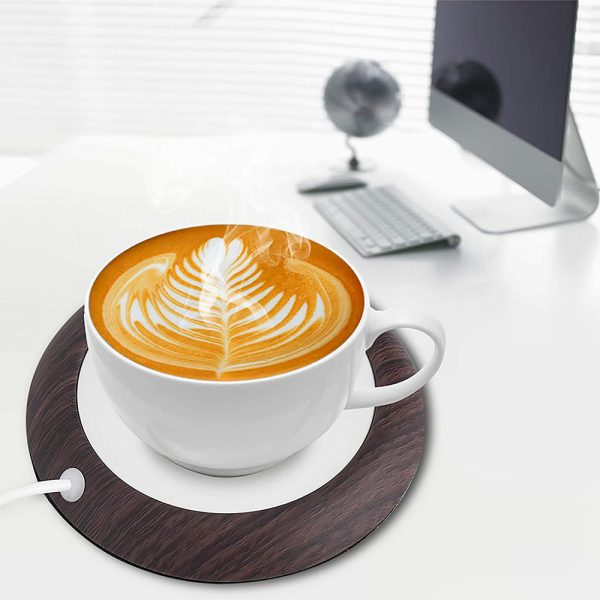 USB Interface Beverage Cup Heater Insulating Coffee Cup Coaster_3