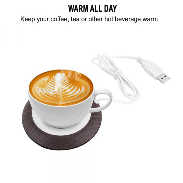 USB Interface Beverage Cup Heater Insulating Coffee Cup Coaster_7