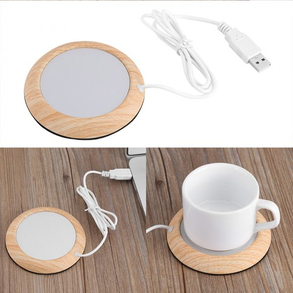 USB Interface Beverage Cup Heater Insulating Coffee Cup Coaster_10