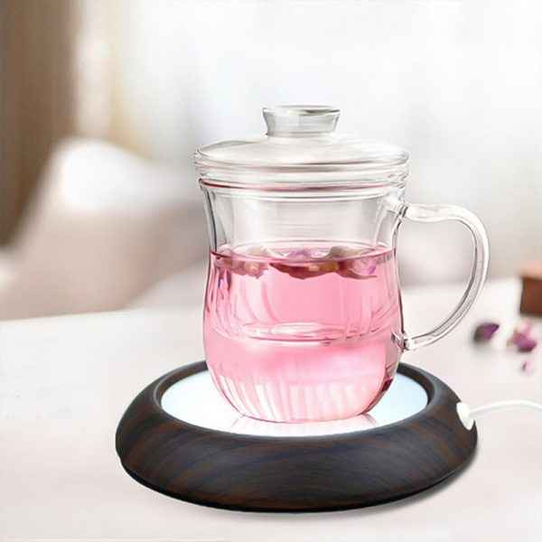 USB Interface Beverage Cup Heater Insulating Coffee Cup Coaster_4