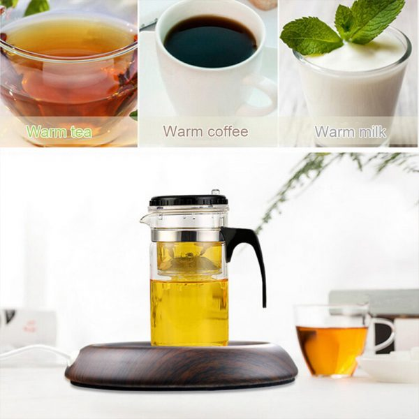 USB Interface Beverage Cup Heater Insulating Coffee Cup Coaster_11