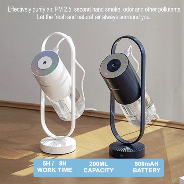 Magic Air Ion Ultrasonic Humidifier and Cool Air Mister_8