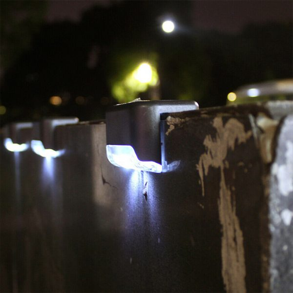 Solar Powered LED Lights for Step and Stairs Railing_5
