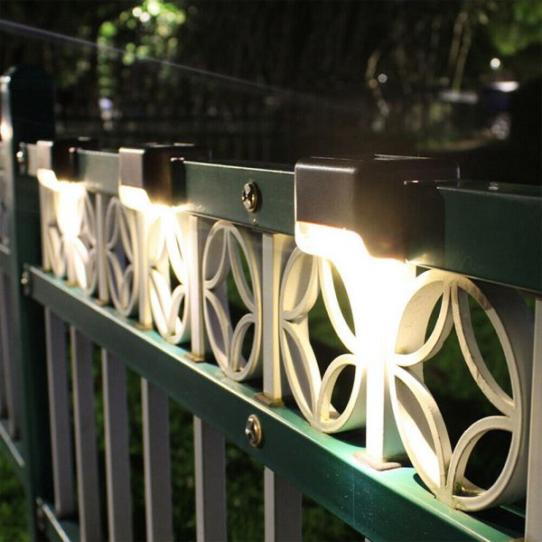 Solar Powered LED Lights for Step and Stairs Railing_14