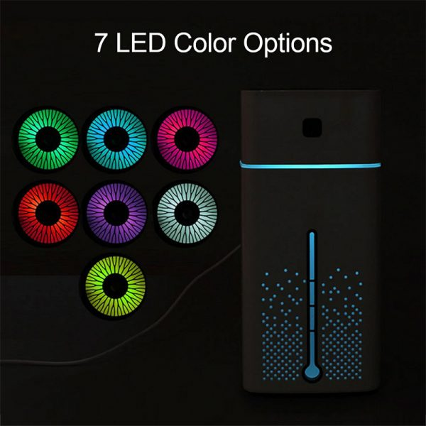 Large Capacity Air Humidifier Essential Oil Diffuser with LED_10