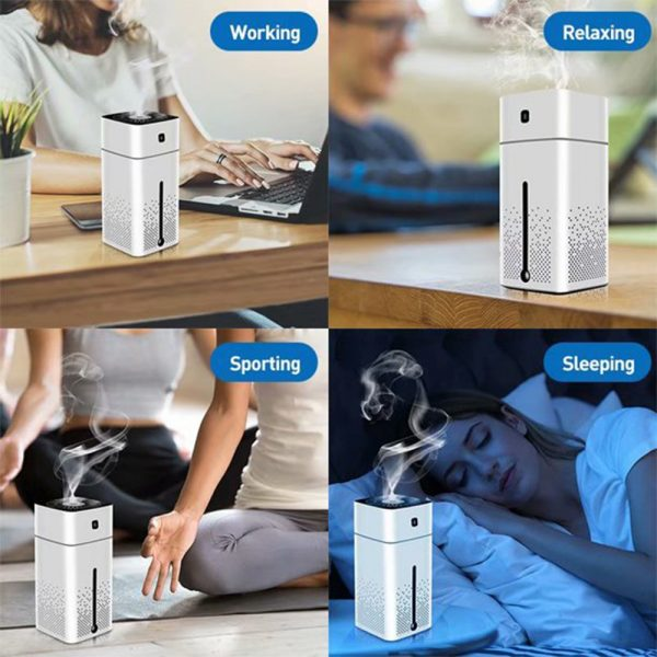 Large Capacity Air Humidifier Essential Oil Diffuser with LED_13
