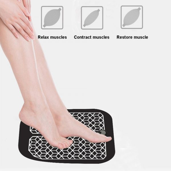EMS Physiotherapy Foot Massager Soft and Comfortable Foot Mat_5