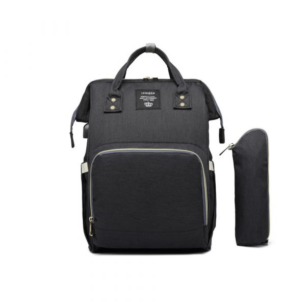 Large Capacity Maternity Travel Backpack with USB Charging Port_0