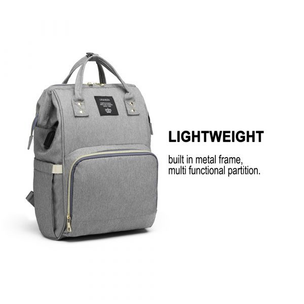 Large Capacity Maternity Travel Backpack with USB Charging Port_14