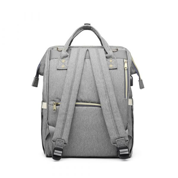Large Capacity Maternity Travel Backpack with USB Charging Port_16