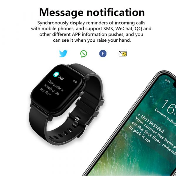 M9 Smart Bracelet Activity Band Fitness Tracker Health and Fitness Monitor_10