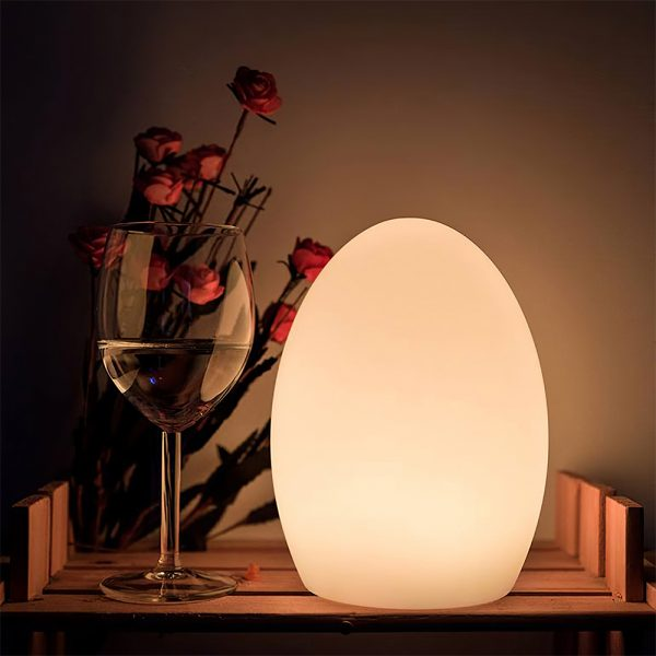 Remote Controlled Cordless Rechargeable LED Room Orb Night Light_6