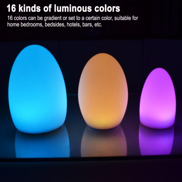 Remote Controlled Cordless Rechargeable LED Room Orb Night Light_8