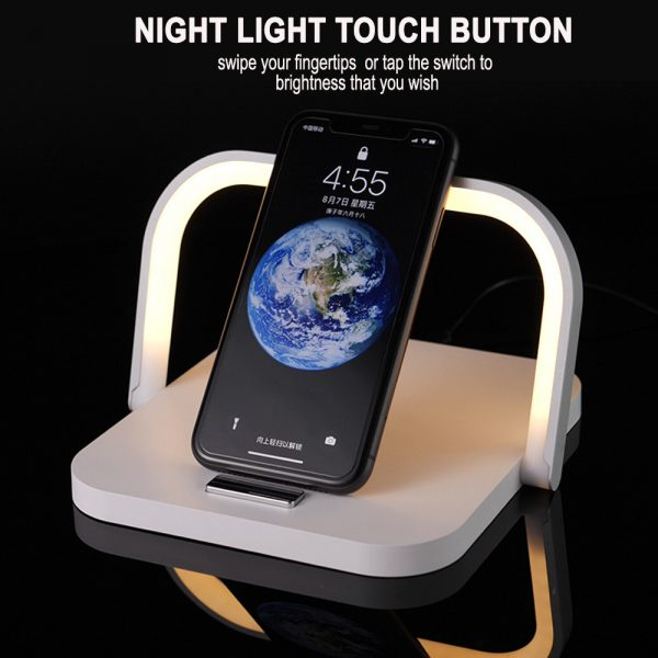 2-in-1 Folding Wireless Charger and Desktop LED Lamp with Eye Protection_9