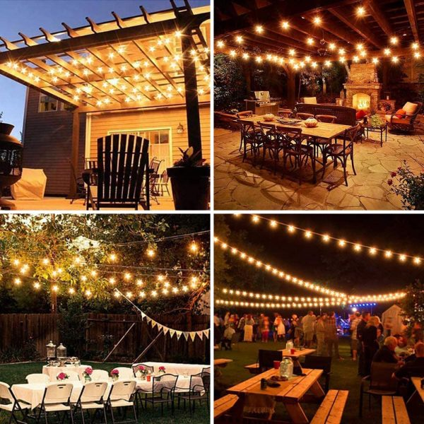 Solar-Powered LED 5-point Star String Lights Outdoor Decorative Lights_21