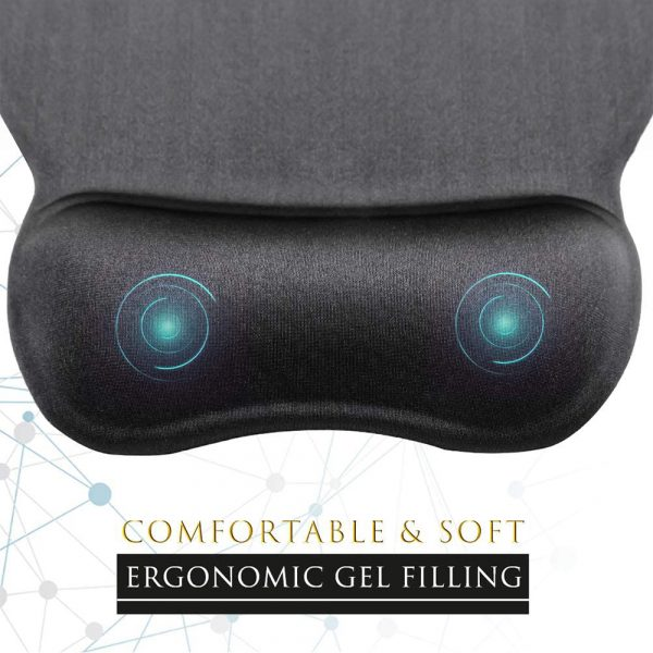 Ergonomic Mouse Pad with Wrist Support Mouse Pad with Memory Foam Rest_4