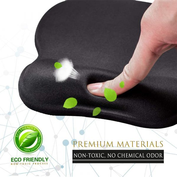 Ergonomic Mouse Pad with Wrist Support Mouse Pad with Memory Foam Rest_7