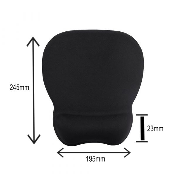Ergonomic Mouse Pad with Wrist Support Mouse Pad with Memory Foam Rest_8
