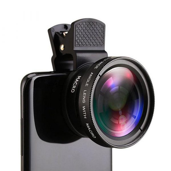 Universal 2-in-1 Wide Angle and Macro Lens Mobile Phone Clip HD Camera Lens_2