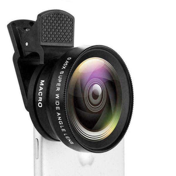 Universal 2-in-1 Wide Angle and Macro Lens Mobile Phone Clip HD Camera Lens_3