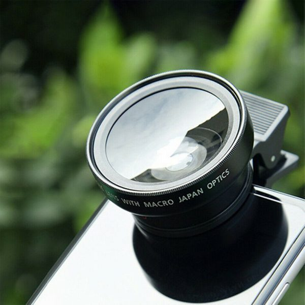 Universal 2-in-1 Wide Angle and Macro Lens Mobile Phone Clip HD Camera Lens_4