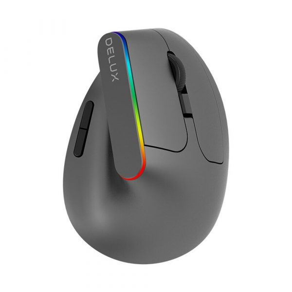 2.4G Wireless Vertical Ergonomic Optical Mouse with Receiver_1