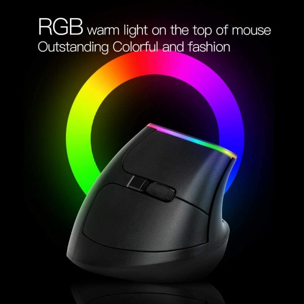 2.4G Wireless Vertical Ergonomic Optical Mouse with Receiver_6