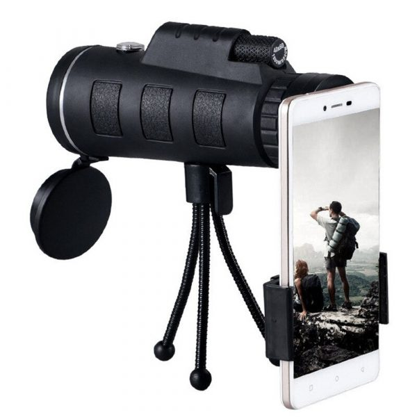High Power Magnification Monocular Telescope with Smart Phone Holder_3