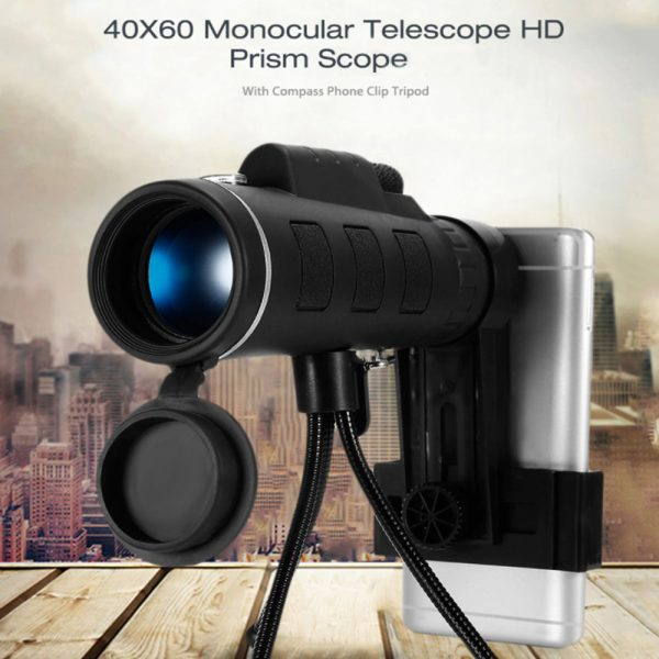 High Power Magnification Monocular Telescope with Smart Phone Holder_4