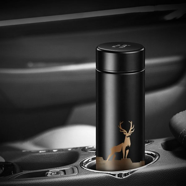 Insulated Hot Water Bottle Vacuum Thermos Flask with LCD Display_5