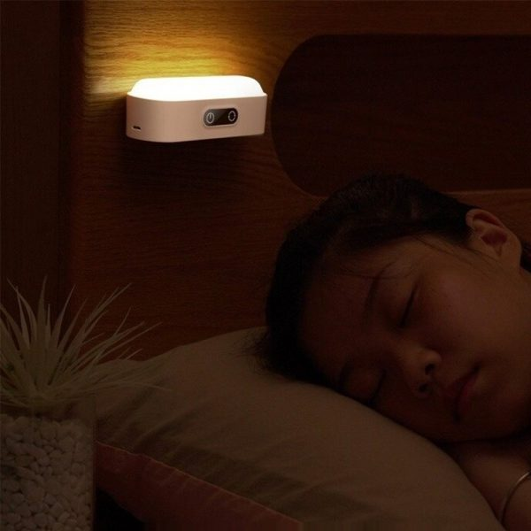 Eye Protection Dimmable Reading LED Night Light Rechargeable Lamp_2