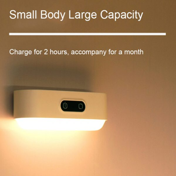 Eye Protection Dimmable Reading LED Night Light Rechargeable Lamp_8
