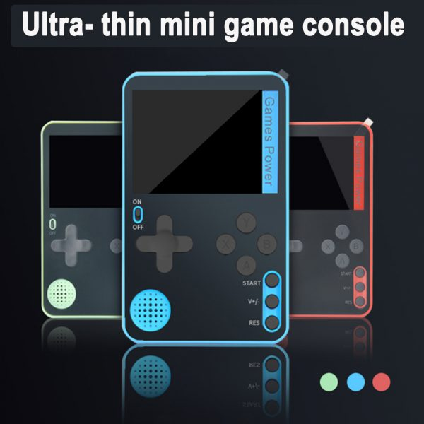 500-in-1 Portable Lightweight Rechargeable Ultra-Thin Gaming Console_4