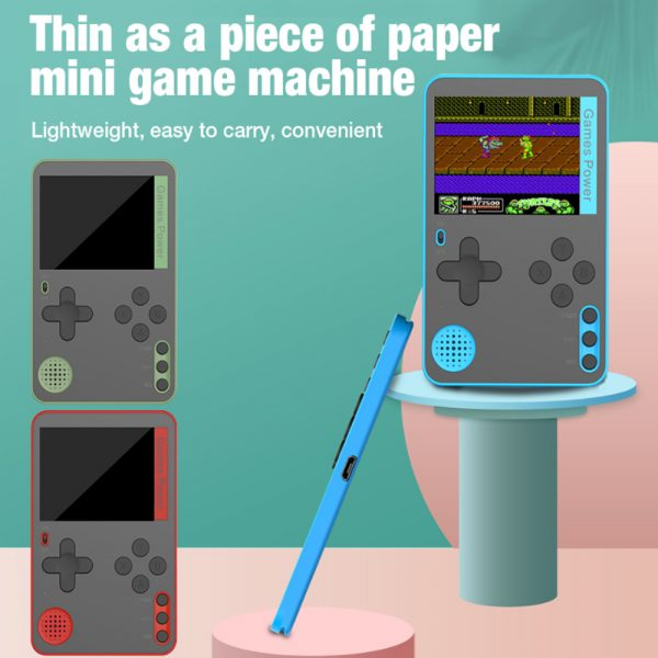 500-in-1 Portable Lightweight Rechargeable Ultra-Thin Gaming Console_6