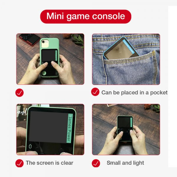500-in-1 Portable Lightweight Rechargeable Ultra-Thin Gaming Console_7