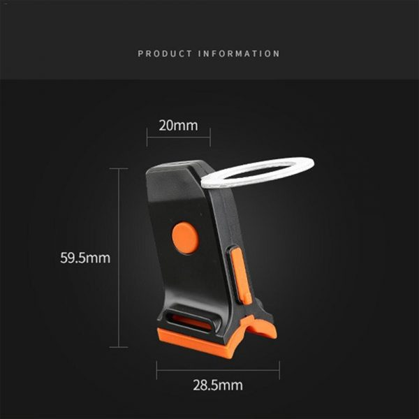 Bicycle Tail Light USB Rechargeable Mountain Bike Night Light_4