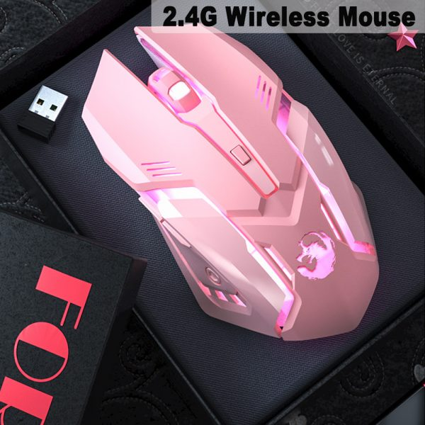 6 Keys Ergonomic Wireless Rechargeable Gaming Mouse with Backlight_4