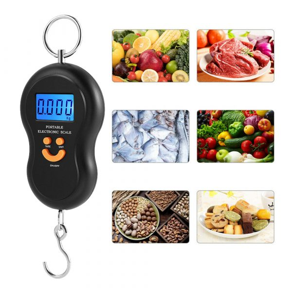 Household Electronic Portable Scale Suspension Scale with Display_4