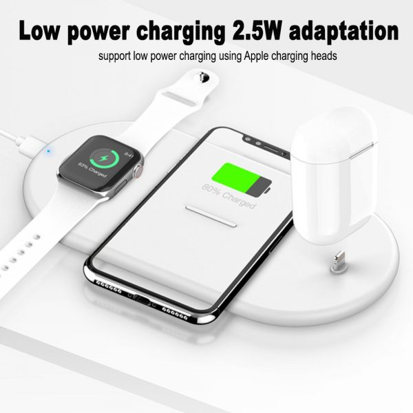 3-in-1 Wireless Charger for QI Devices iPhone, Watch & Airpods_8