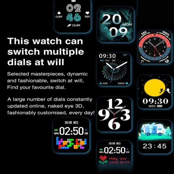 HW22 Smart Watch Activity Tracker Unisex Fitness Band and Health Monitor_11
