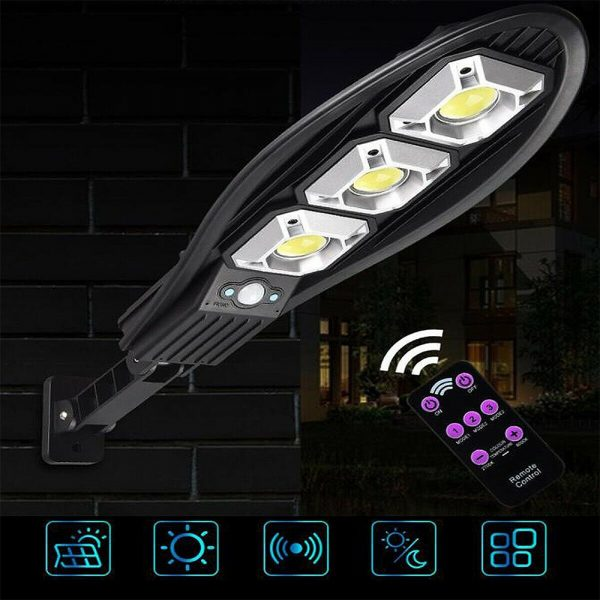 Remote Controlled Human Induction Outdoor Solar Garden Light_3
