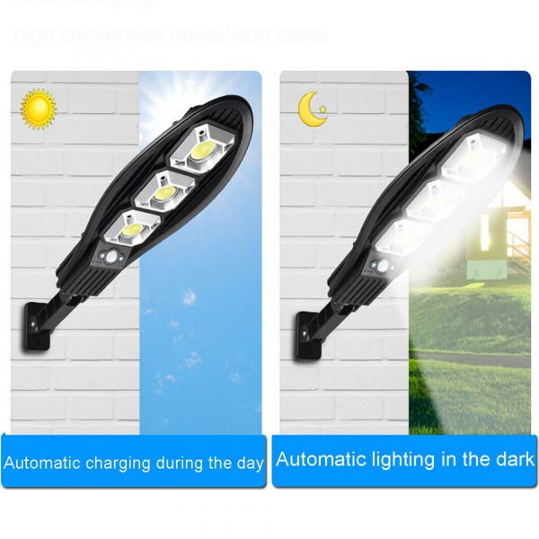 Remote Controlled Human Induction Outdoor Solar Garden Light_5