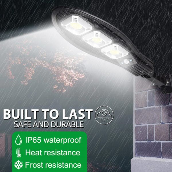 Remote Controlled Human Induction Outdoor Solar Garden Light_9
