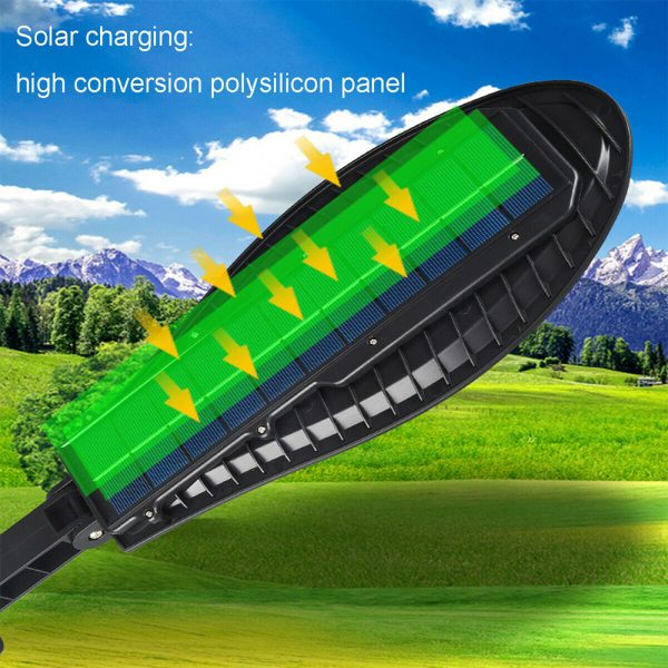 Remote Controlled Human Induction Outdoor Solar Garden Light_10