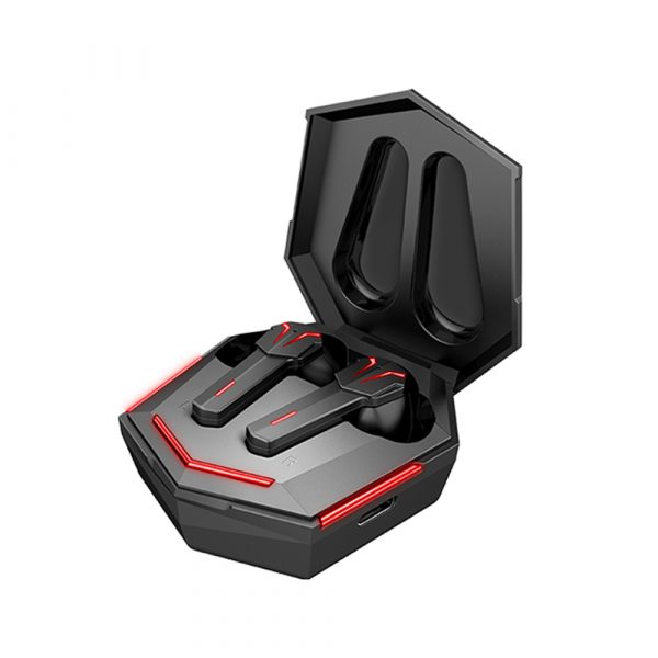Low Latency TWS Bluetooth Gaming Earphones with Charging Case_0