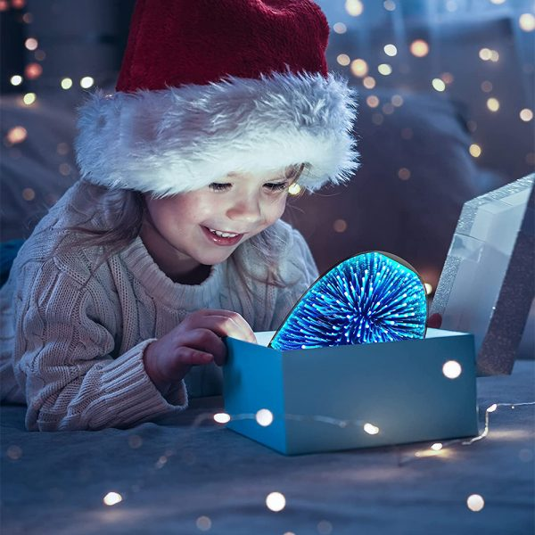 3D Star Sky Crystal Touch Control Bluetooth Speaker with LED Night Light_2