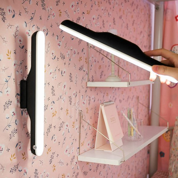 Dimmable LED Magnetic Light Strip Touch Lamp for Reading and Closet_3